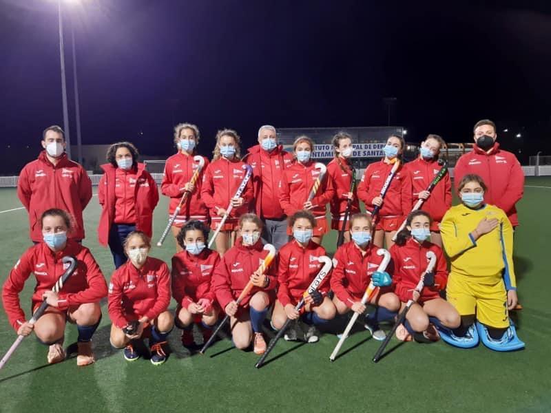 equipo femenino infantil del RGCC